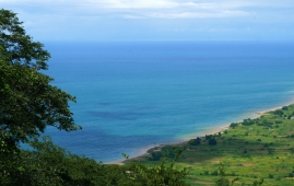 Stunning view of Lake Malawi from the Chiweta escarpment.